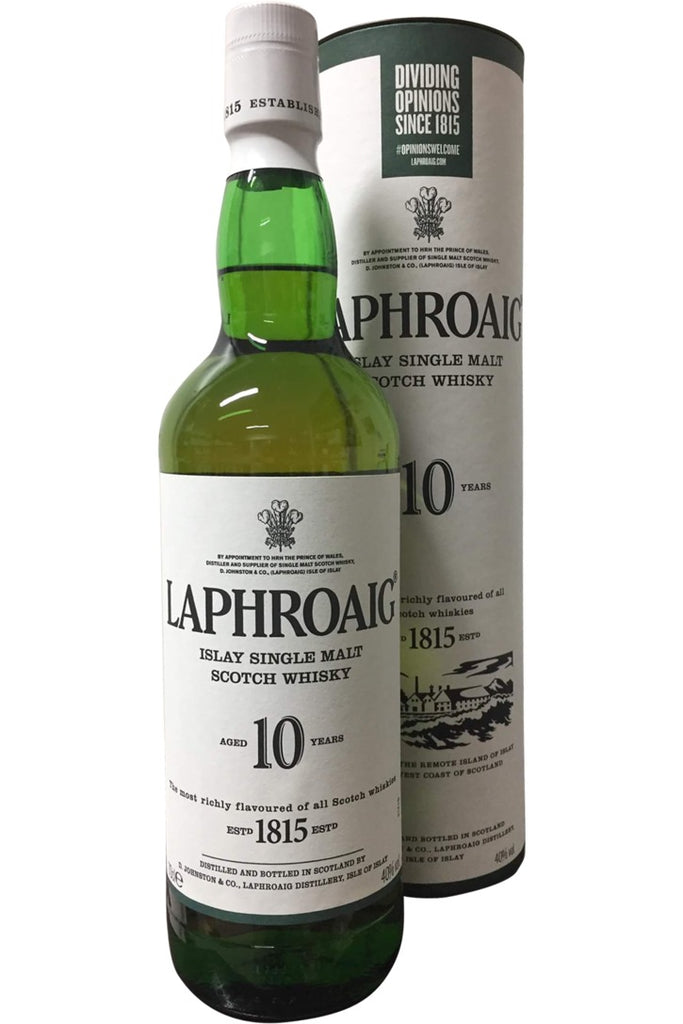 Laphroaig 10 Year Old - 40% 700ml  Whisky
