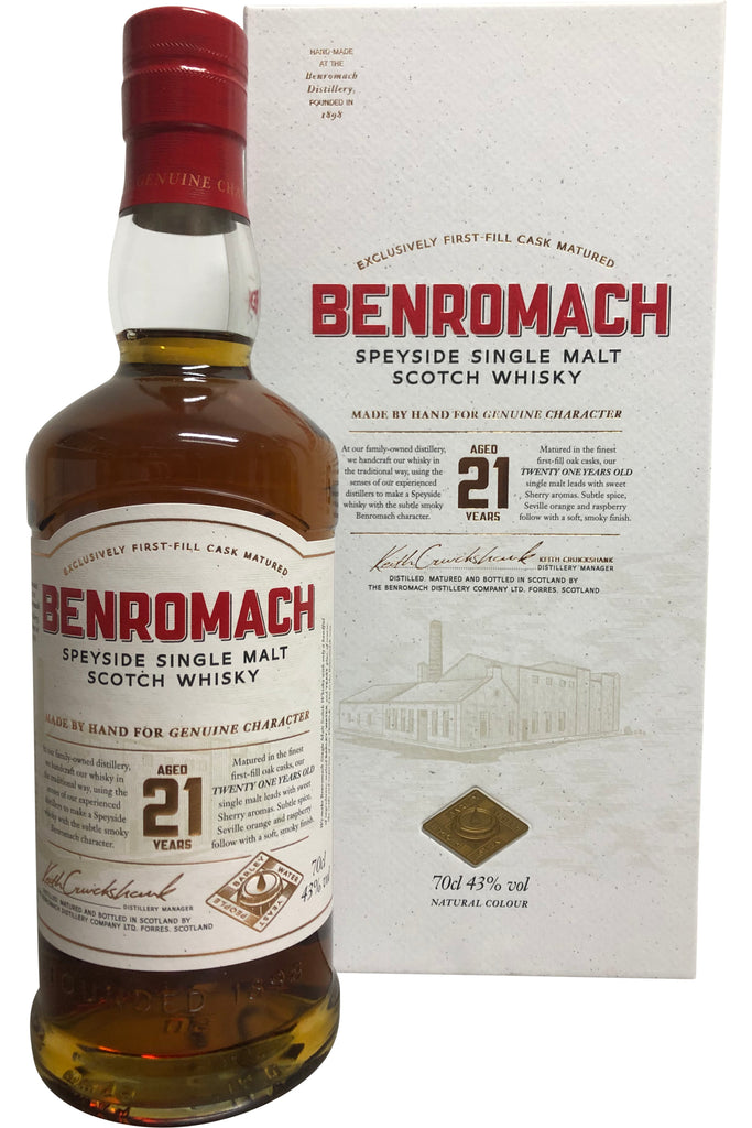 Benromach 21 Year Old | 43% 700ml  Whisky