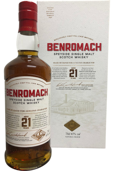 Benromach 21 Year Old | 43% 700ml