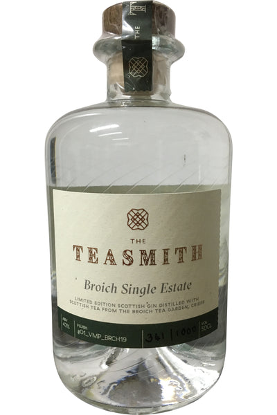 Teasmith Broich Single Estate Gin - 43% 500ml
