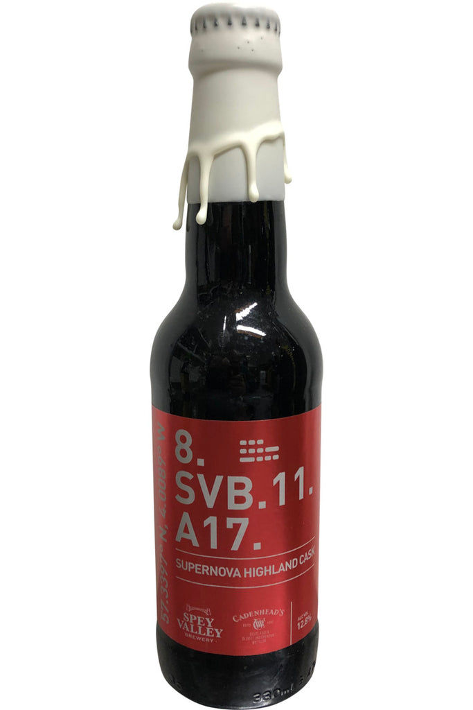 Stout aged in Highland Whisky Cask 330ml 12.8%