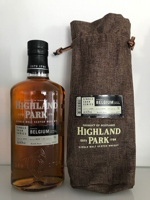 Highland Park Single Cask Series Belgium 13 Year Old #6577 - 64.1% 700ml  Whisky