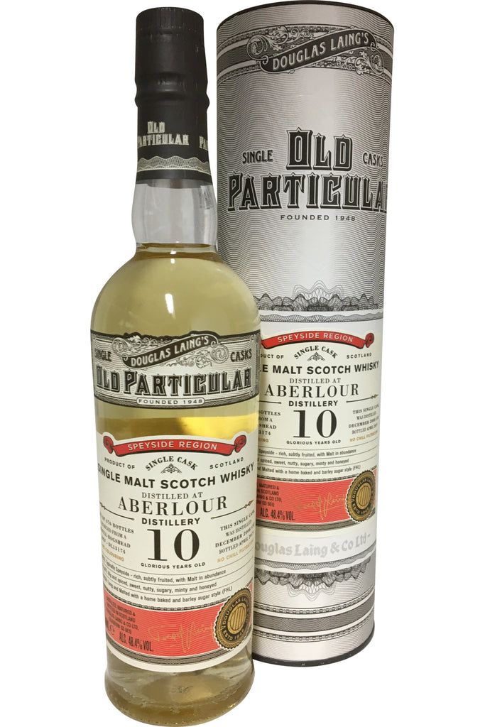 Douglas Laing's Aberlour 10 Year Old 'Old Particular' - 48.4% 700ml  Whisky