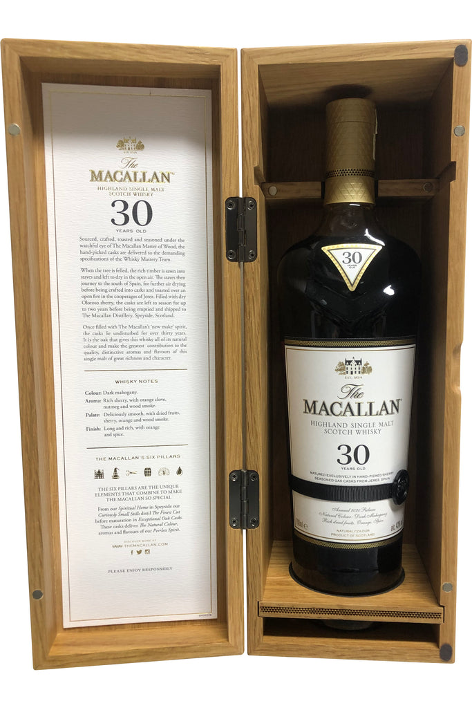 Macallan 30 Year Old Sherry Cask | 700ml 43%  Whisky