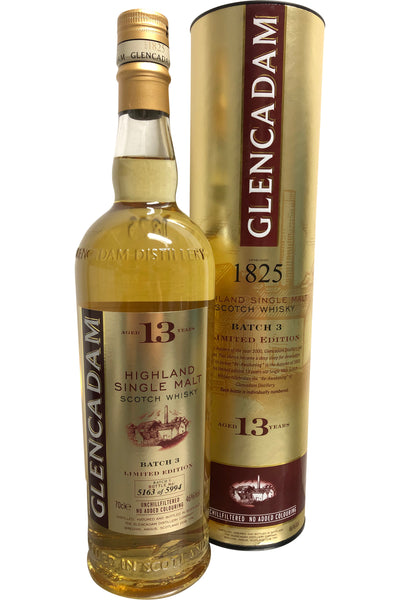Glencadam 13 Batch 3 Year Old - 46% 700ml