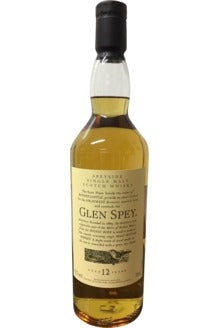 Glen Spey 12 Year Old Flora & Fauna Whisky - 43% 700ml