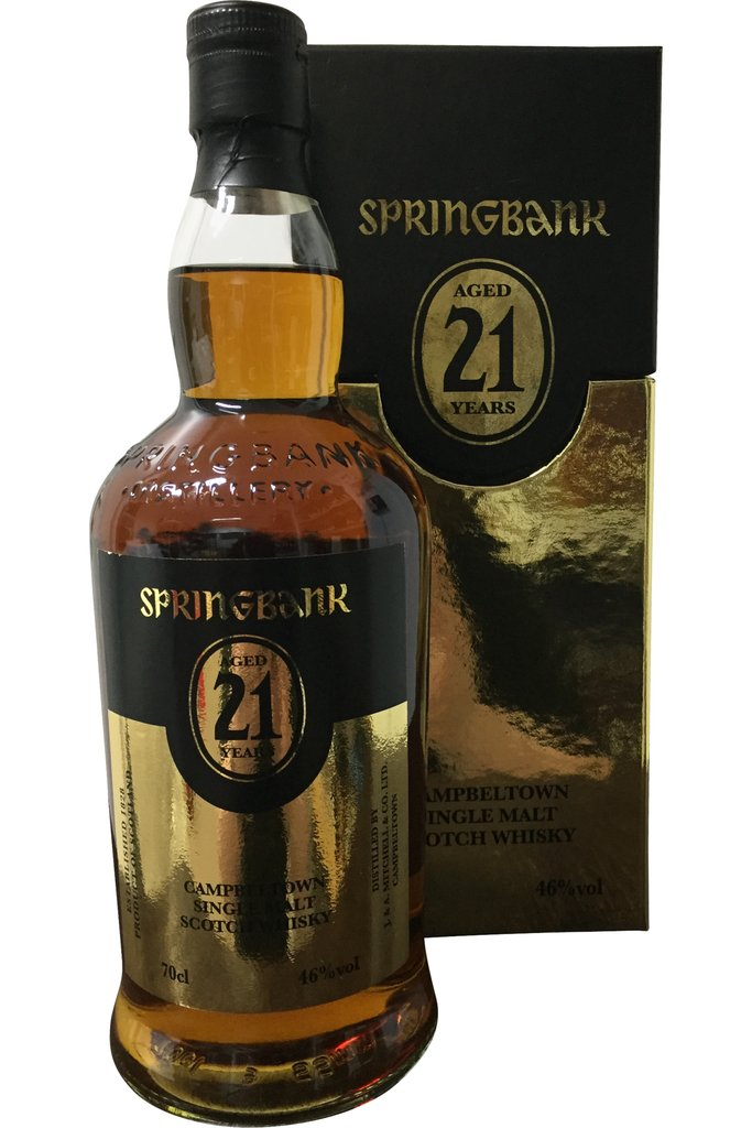 Springbank 21 Year Old 2020 | 46% 700ml  Whisky