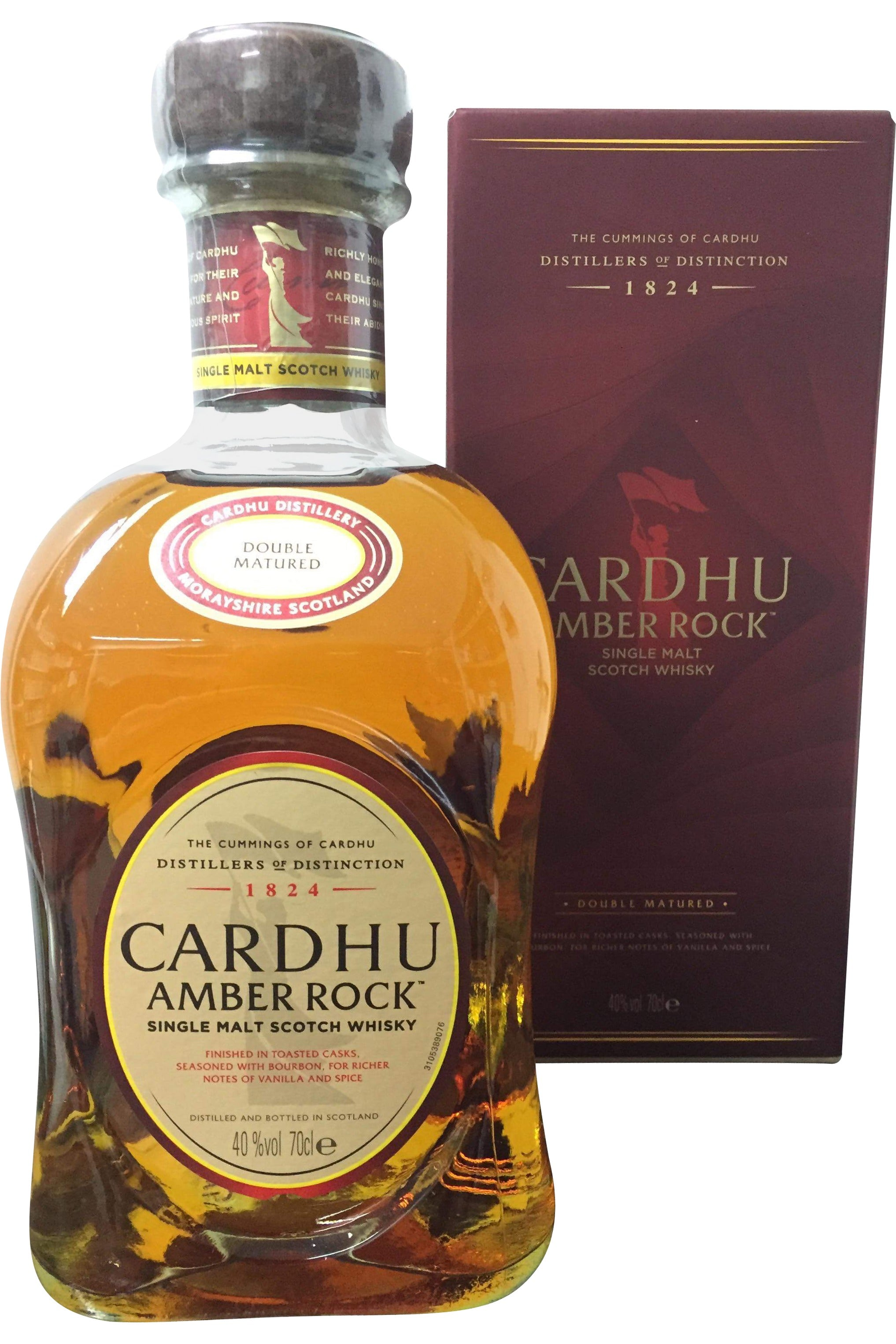 Cardhu Amber Rock - 40% 700ml