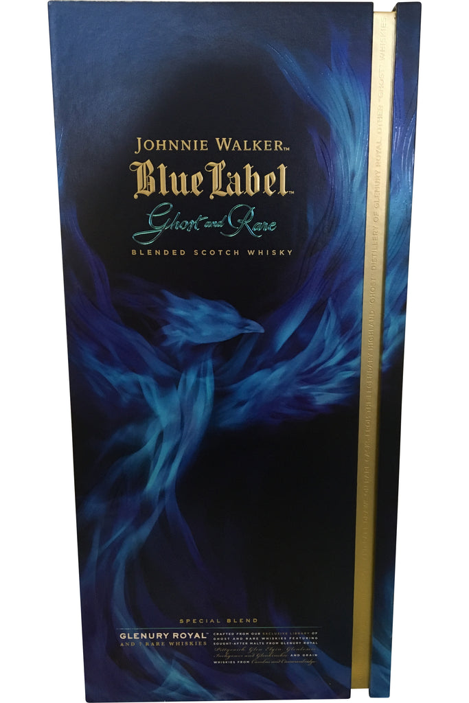 Johnnie Walker Blue Label Ghost and Rare Glenury Royal - 43.8% 700ml  Whisky