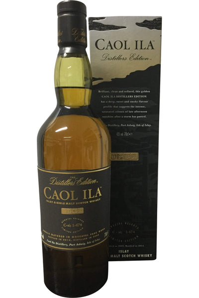 Caol Ila Distiller's Edition 2004 - 43% 700ml