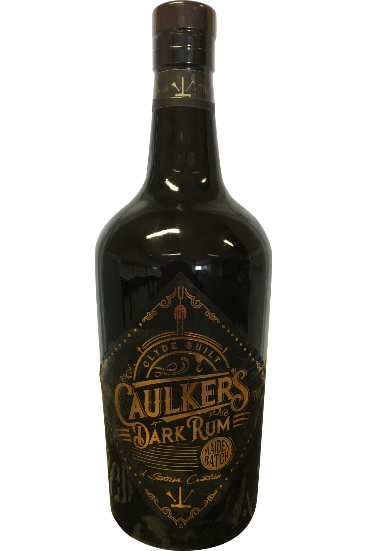 Caulkers Dark Rum Maiden Batch - 40% 700ml