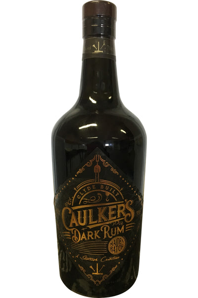 Caulker's Dark Rum Maiden Batch - 40% 700ml