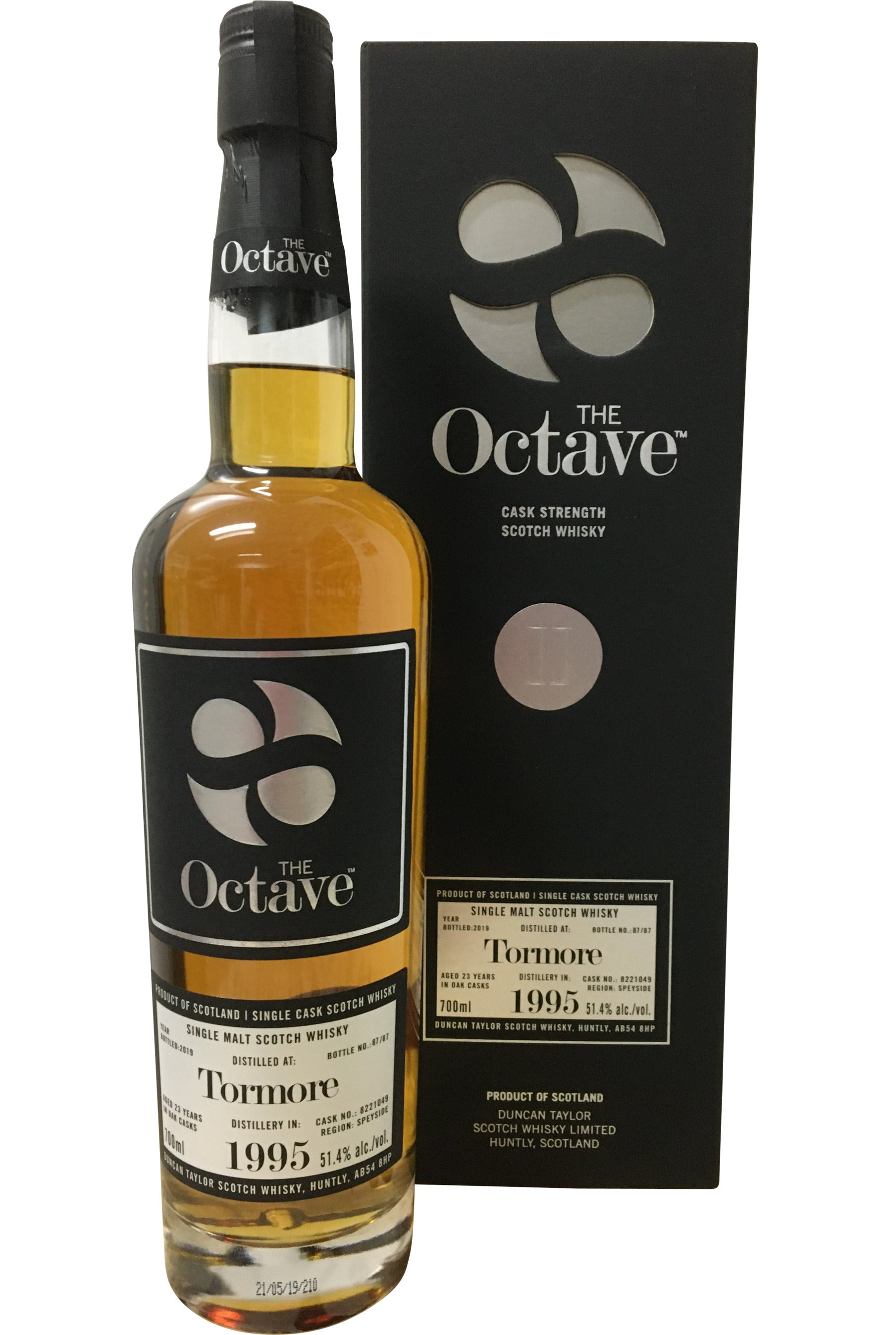 The Octave Premium Tormore 1995 23 Year Old #8221049 Whisky - 51.4% 700ml