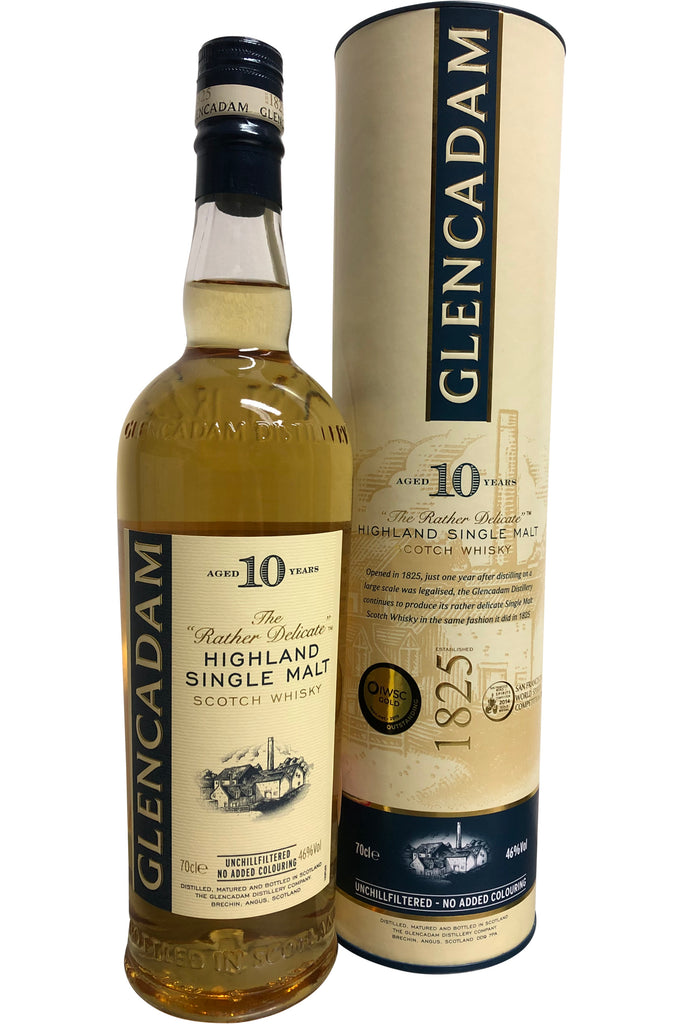 Glencadam 10 Year Old - 46% 700ml  Whisky