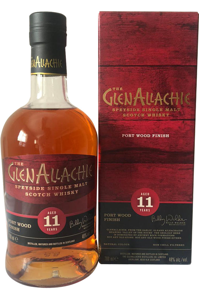 Glenallachie 11 Year Old Port Wood Finish 48% 70cl