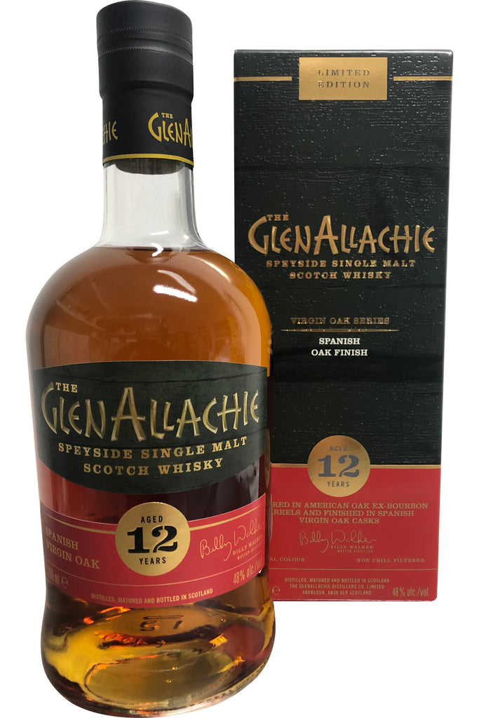 Glenallachie 12 Year Old Spanish Oak 48% 700ml