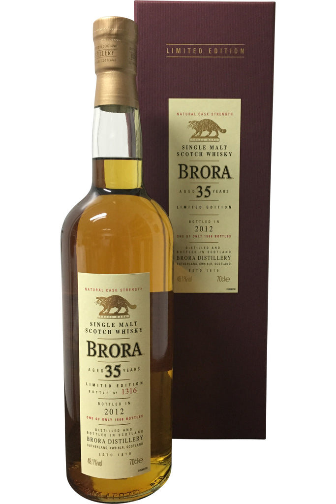 Brora 35 Year Old Limited Edition 2012 | 48.1% 700ml  Whisky