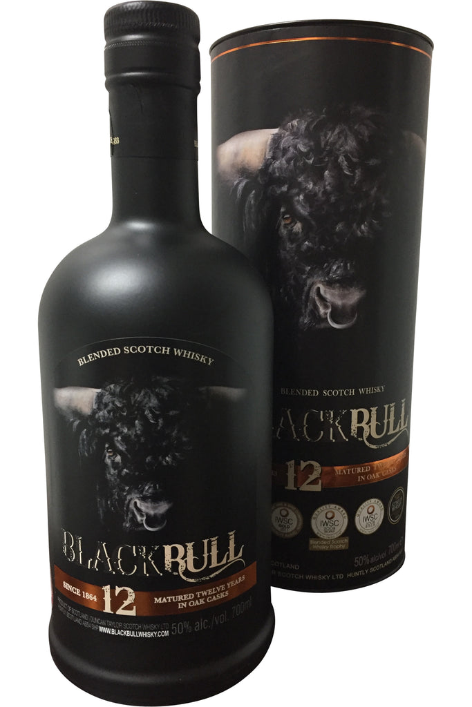 Black Bull 12 Year Old Whisky - 50% 700ml  Whisky