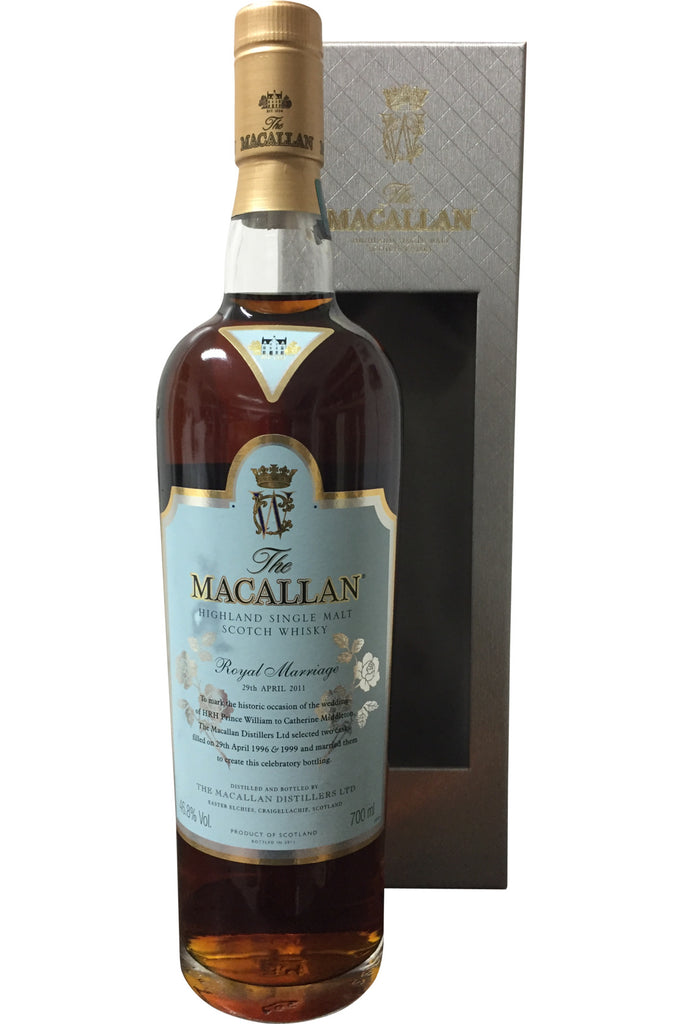 Macallan Royal Marriage 29th April 2011 Whisky - 46.8% 700ml  Whisky