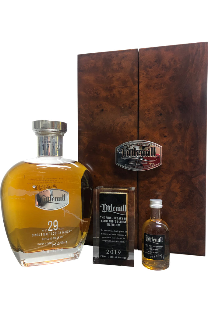 Littlemill 29 Year Old 2019 Private Cellar Release - 47.3% 700ml  Whisky