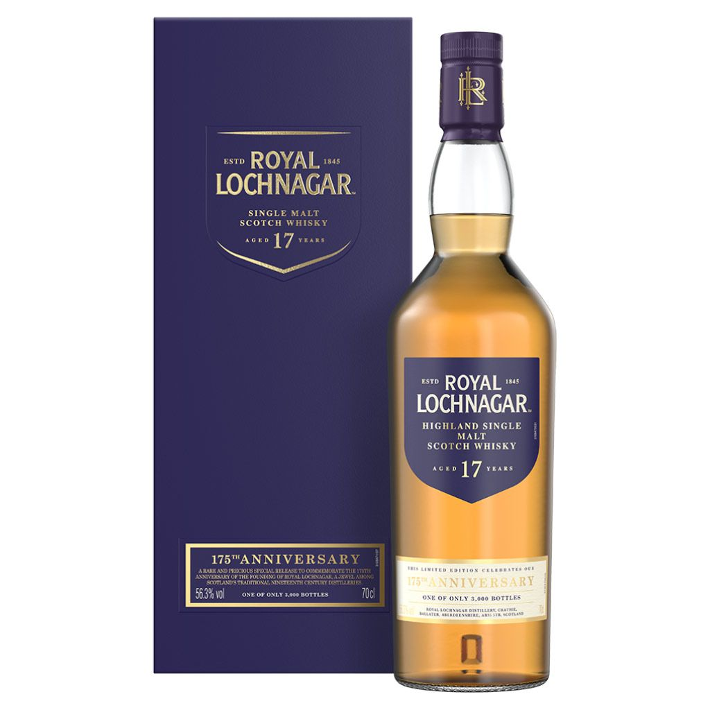 Royal Lochnagar 17 Year Old 175th Anniversary - 56.3% 700ml  Whisky