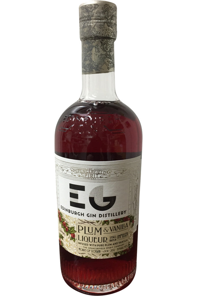 Edinburgh Gin Distillery Plum & Vanilla Liqueur - 20% 200ml