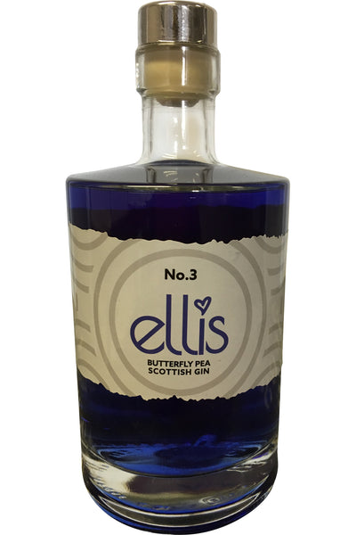 Ellis Scottish Gin No.3 Butterfly Pea - 40% 500ml