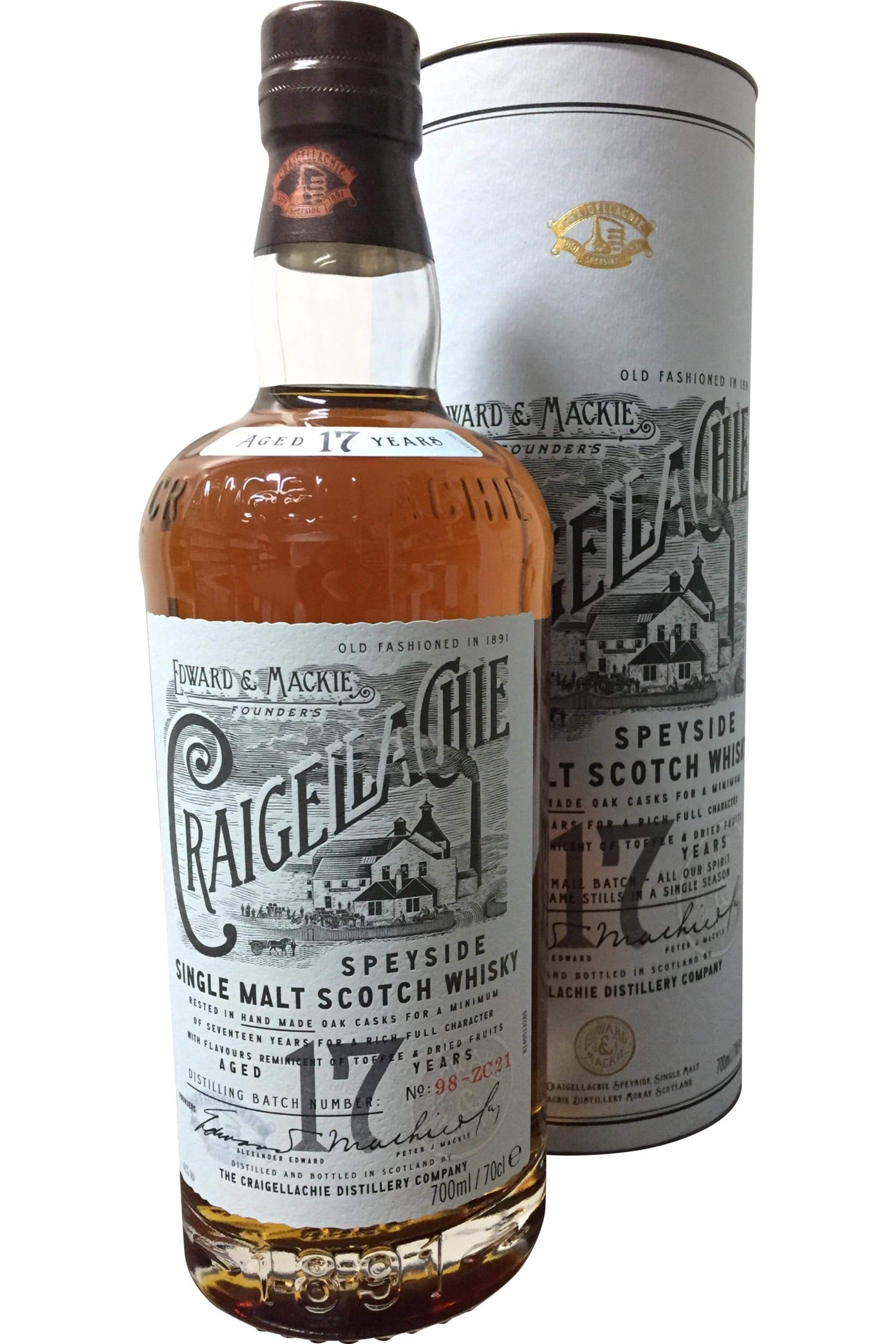 Craigellachie 17 Year Old - 46% 700ml