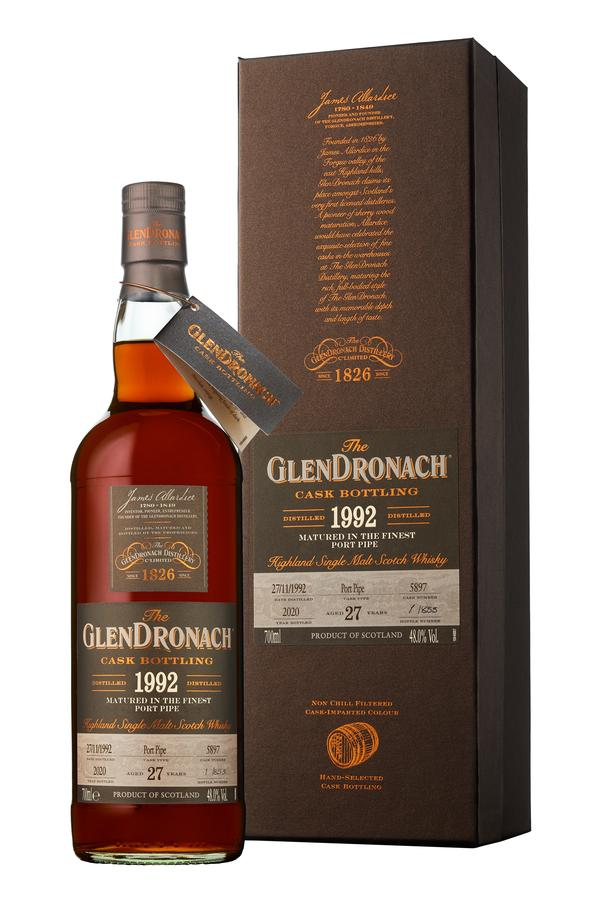 Glendronach 1992 27 Year Old Cask No.5897 Batch 18 | 48.0% 700ml  Whisky