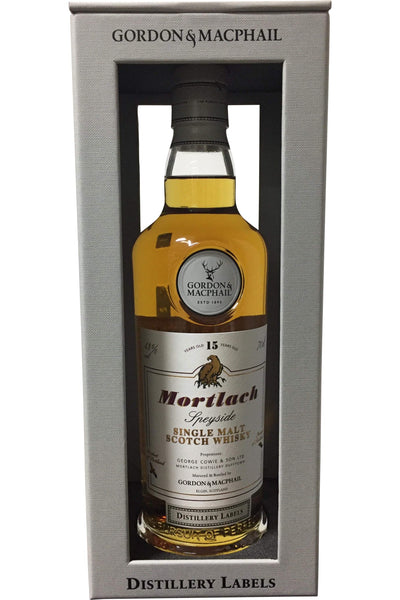Gordon & Macphail Mortlach 15 Year Old Distillery Labels - 43% 700ml