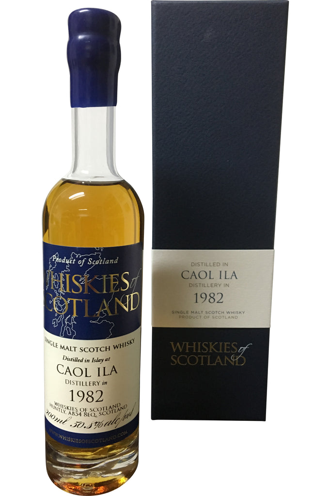 Whiskies Of Scotland Caol Ila 1982 - 50.8% 200ml - Award Winning  Whisky