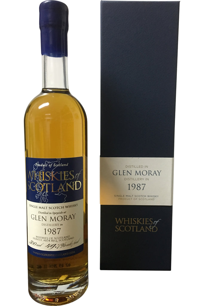 Whiskies of Scotland Glen Moray 1989 - 54.5% 500ml - Award Winning  Whisky