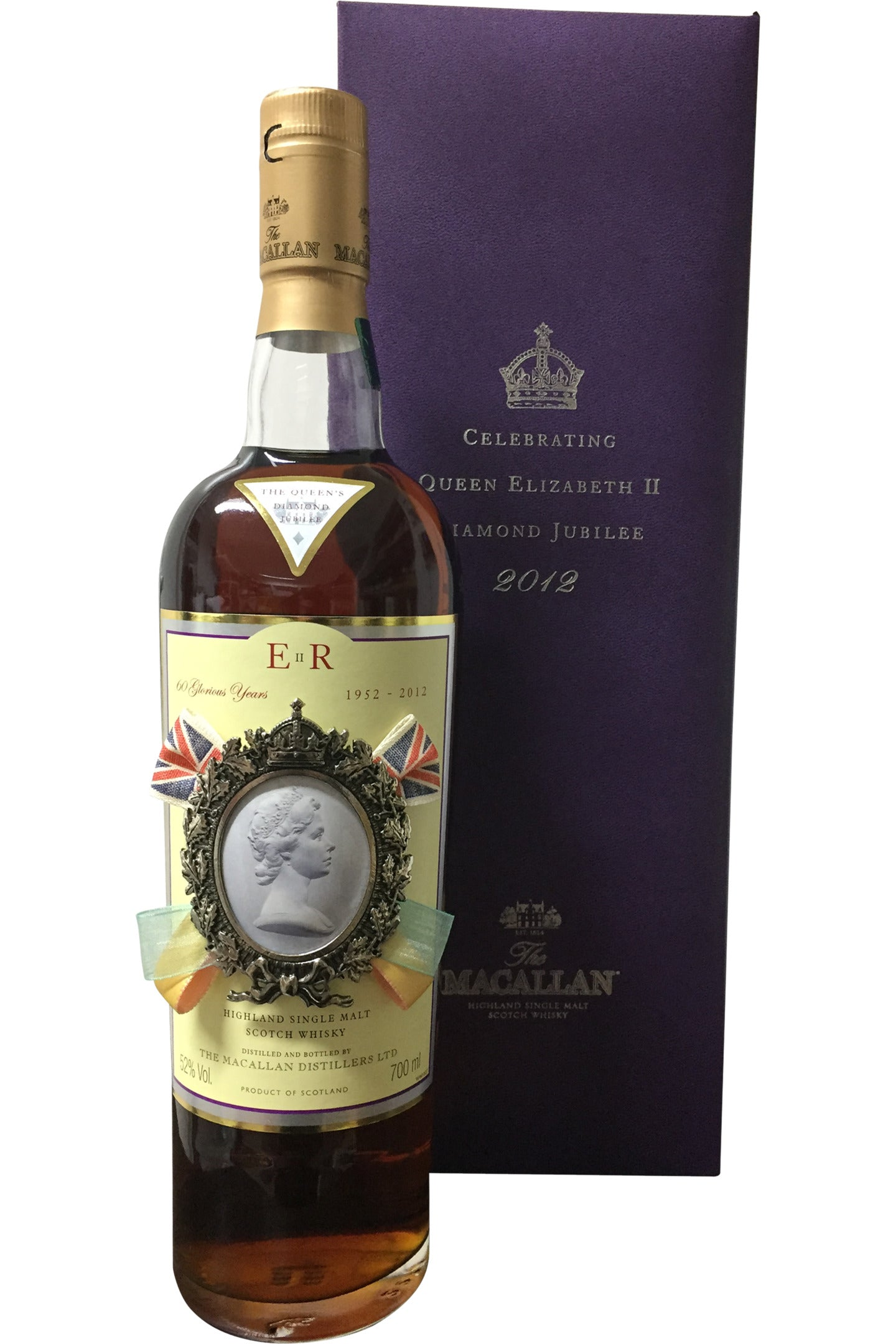 Macallan Diamond Jubilee 2012 Whisky - 52% 700ml