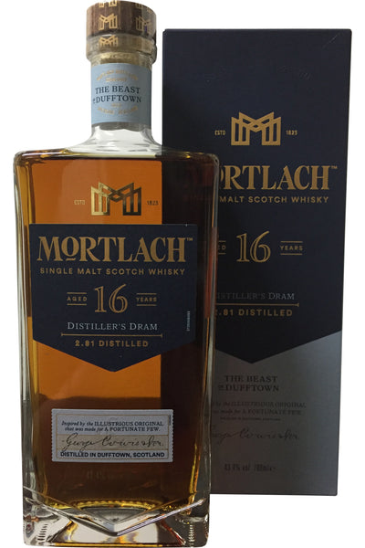 Mortlach 16 Year Old Distiller's Dram - 43.4% 700ml