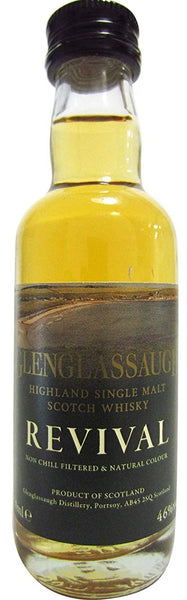 Glenglassaugh Revival Miniature Whisky - 46% 50ml
