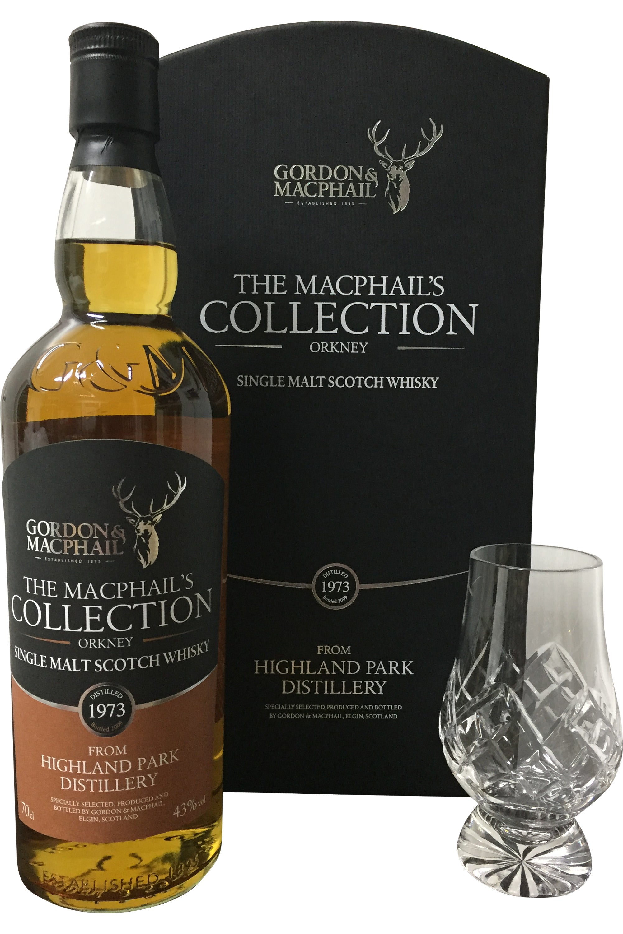 The Macphails Collection From Highland Park Distillery 1973 - 43% 700ml