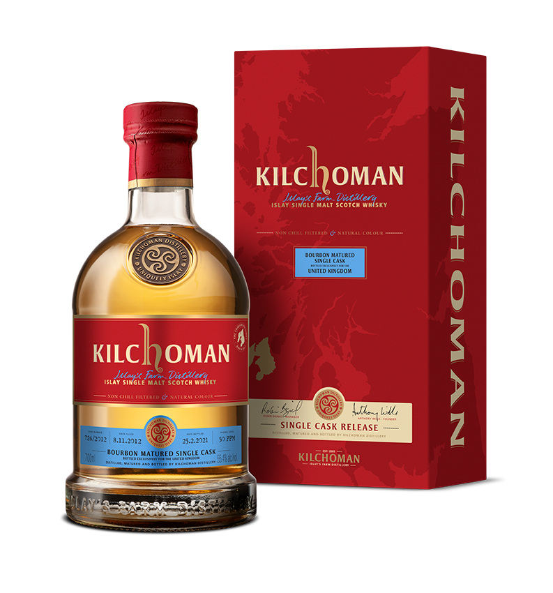Kilchoman Single Cask 726 Comparison Series 55.4% 700ml