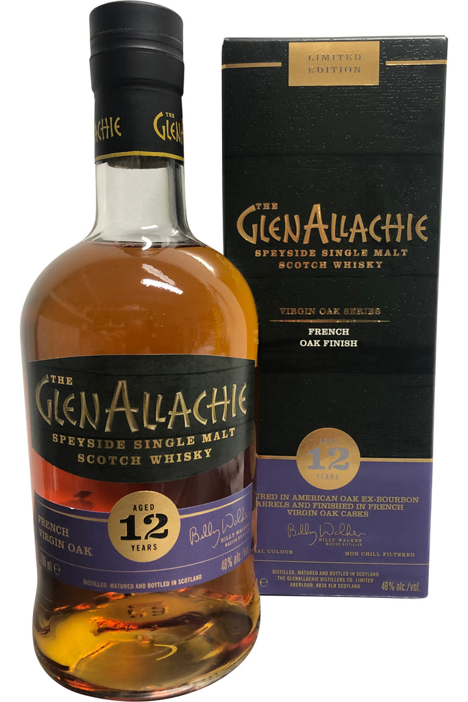 Glenallachie 12 Year Old French Oak 48% 700ml
