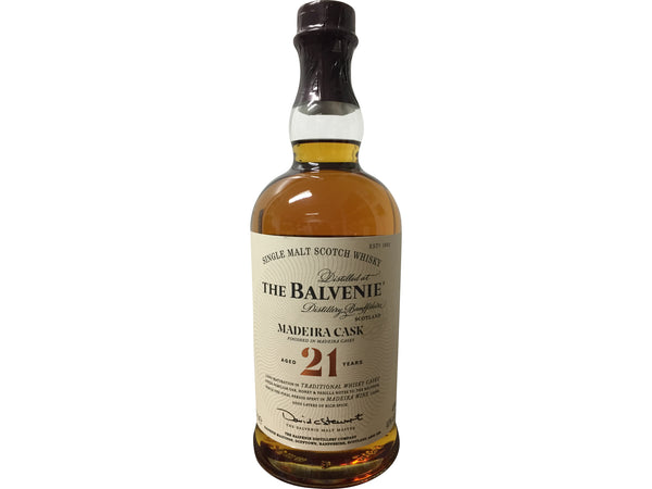 Balvenie 21 Year Old Madeira Cask Whisky | 40% 700ml