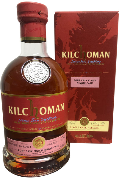 Kilchoman Single Cask Port Cask 56.3% 700ml