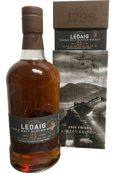 Ledaig 21 Year Old Manzanilla 52.9% 700ml