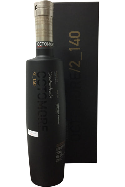 Bruichladdich Octomore Edition 02.1 Aged 5 Years 140ppm - 62.5% 700ml