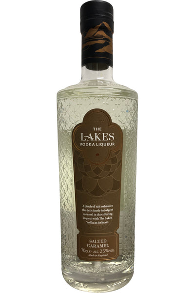 The Lakes Salted Caramel Vodka Liqueur 25% ABV 700ml