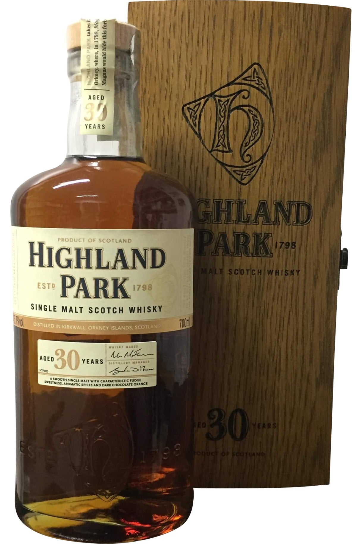Highland Park 30 Year Old - 45.7% 700ml
