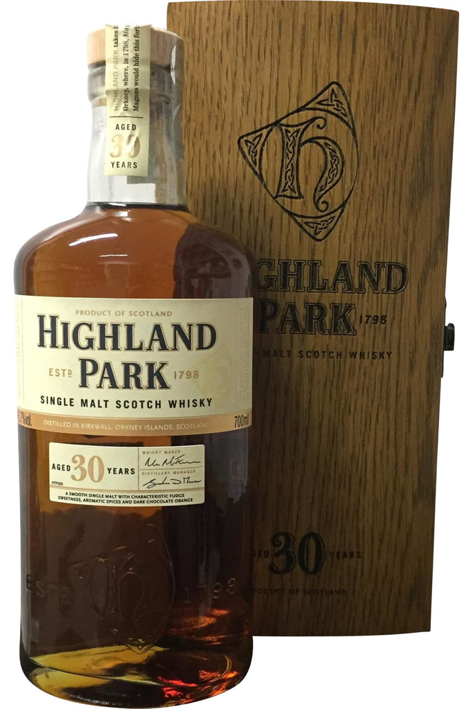 Highland Park 30 Year Old - 45.7% 700ml  Whisky
