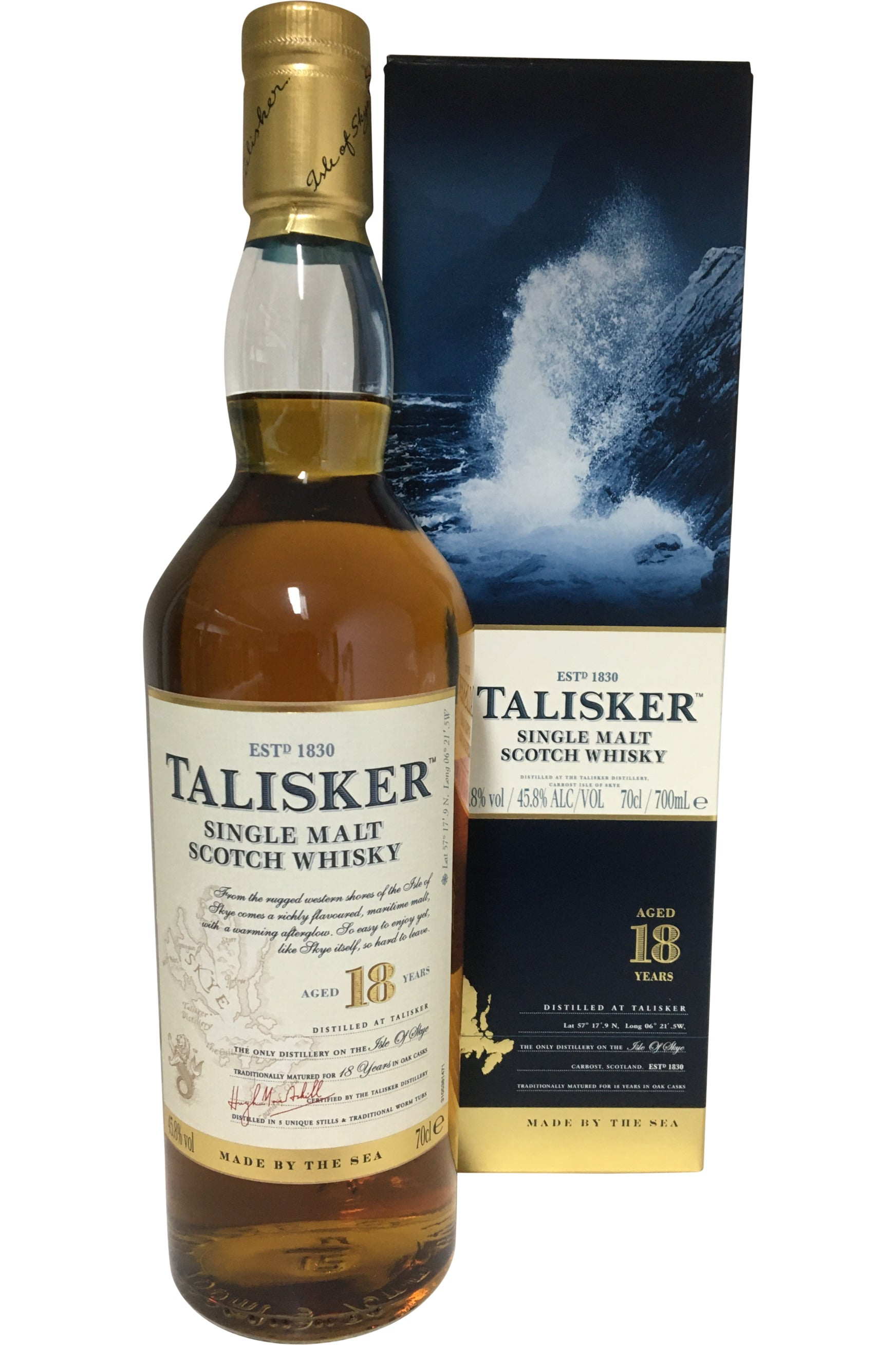 Talisker 18 Year Old - 45.8% 700ml