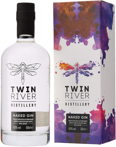 Twin River Distillery Naked Gin - 43% 500ml