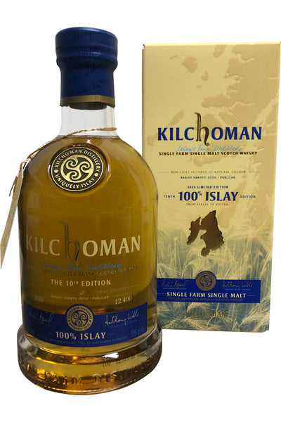 Kilchoman 100% Islay 10th Edition 50% 700ml