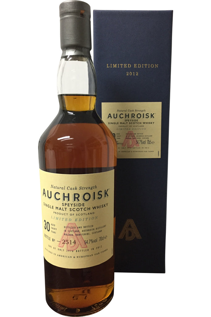Auchroisk 30 Year Old Limited Edition 2012 | 54.7% 700ml  Whisky