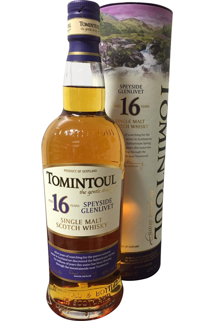 Tomintoul 16 Year Old Whisky - 40% 700ml